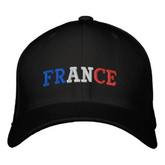 France Embroidered Hat