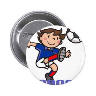 France - Euro 2012 Pinback Button