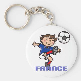 France - Euro 2012 Basic Round Button Key Ring