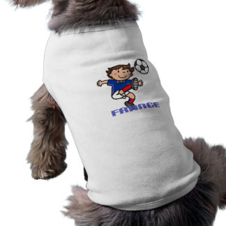 France - Euro 2012 Dog Tee Shirt
