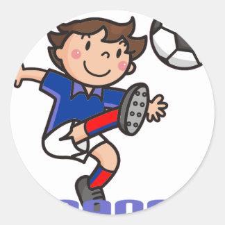 France - Euro 2012 Round Sticker