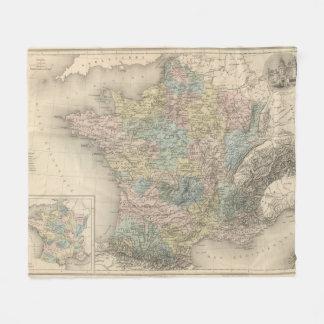 France Feodale Fleece Blanket