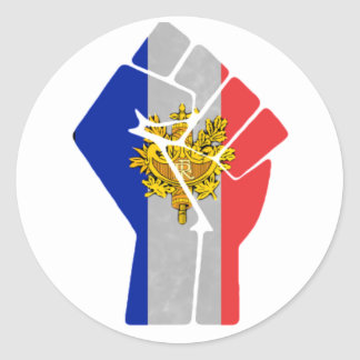 France Fist Stickers
