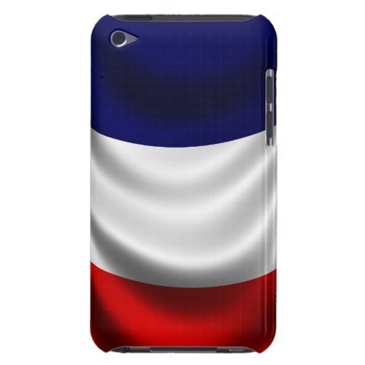 France Flag - Apple iPod Touch 4th Generation Case Barely There iPod Cover