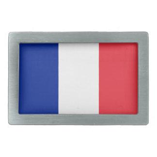 France Flag Belt Buckle