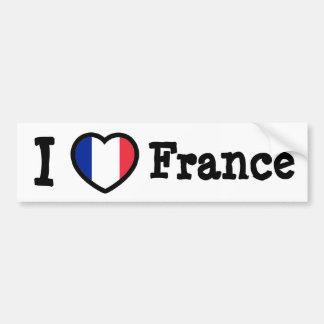 France Flag Car Bumper Sticker
