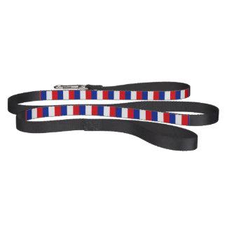 France Flag Dog Lead