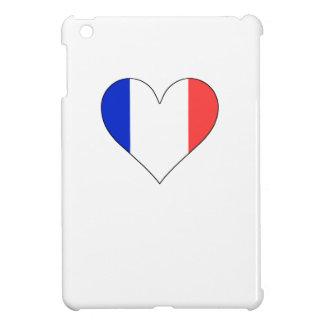 France Flag Heart iPad Mini Covers