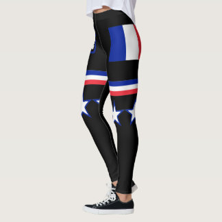 France Flag Leggings