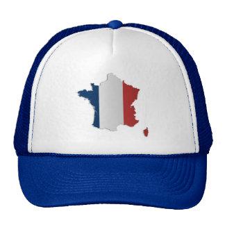 France Flag Map Cap