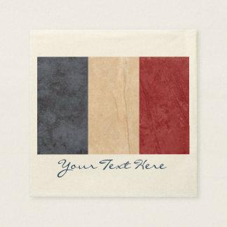 France Flag Party Napkins Paper Napkin