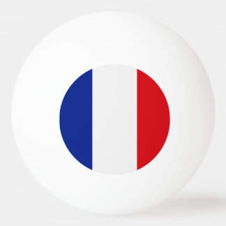 France Flag Ping Pong Ball
