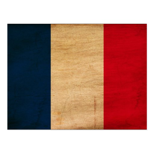 France Flag Post Cards