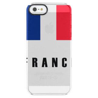 France Flag Simple Dark Clear iPhone SE/5/5s Case