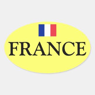 France Flag Sticker /France autocollant de drapeau