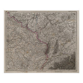 France, four leaves, leaf 2 poster