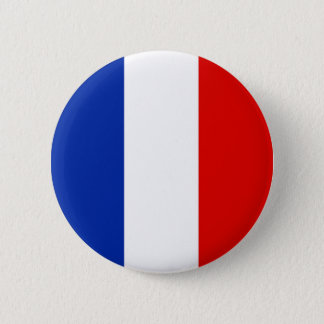 France, France 6 Cm Round Badge