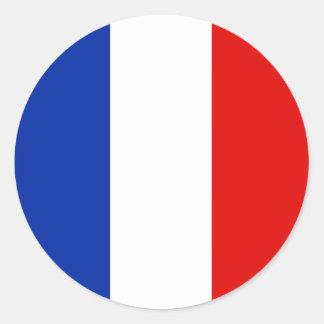 France, France Round Sticker