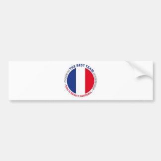 France Frankreich Art Shield Bumper Sticker