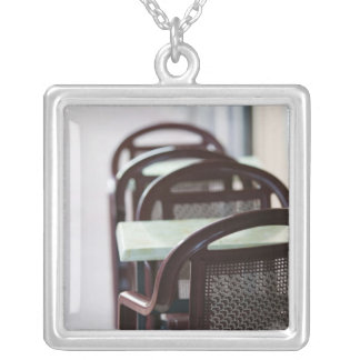FRANCE, French Alps (Haute, Savoie), ANNECY: Silver Plated Necklace