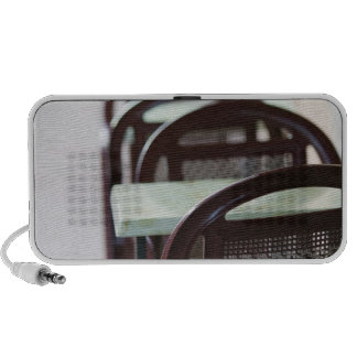 FRANCE, French Alps (Haute, Savoie), ANNECY: iPhone Speakers