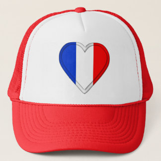 France French Flag Trucker Hat