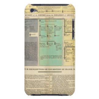 France from 752 to 987 iPod Case-Mate case