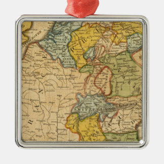 France, Germany, Netherlands, Switzerland Christmas Ornament