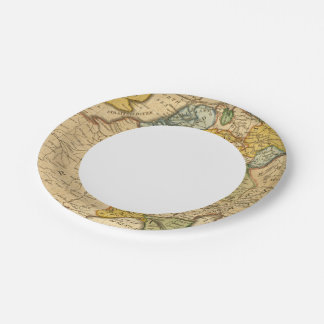 France, Germany, Netherlands, Switzerland Paper Plate