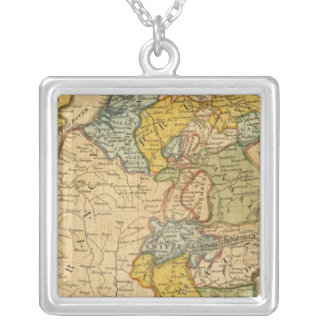 France, Germany, Netherlands, Switzerland Silver Plated Necklace