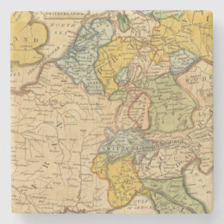 France, Germany, Netherlands, Switzerland Stone Coaster