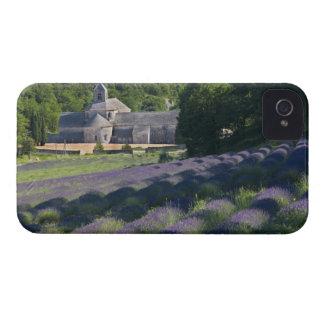France, Gordes, Senaque Abbey, lavender field iPhone 4 Case-Mate Case
