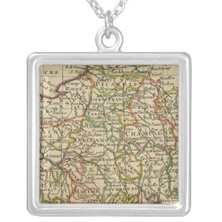 France, governments silver plated necklace