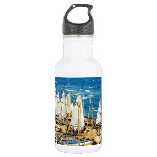 France, Hyeres, Var, Port and Marina 532 Ml Water Bottle