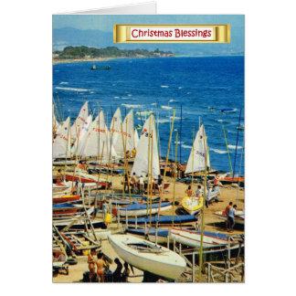 France, Hyeres, Var, Port and Marina Card
