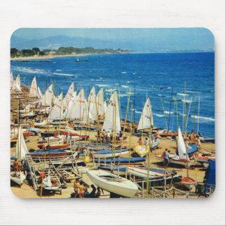 France, Hyeres, Var, Port and Marina Mouse Mat