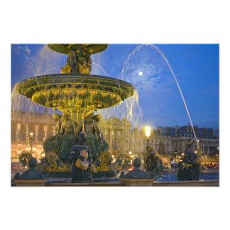 France, Ile de France, Paris, Concorde place, Photo Print