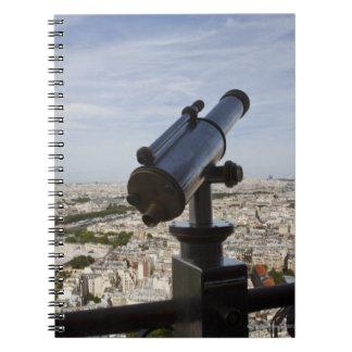 France, Ile-de-France, Paris, Eiffel Tower, Notebooks
