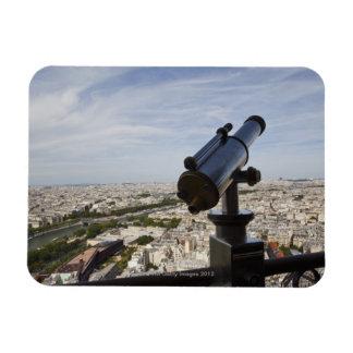 France, Ile-de-France, Paris, Eiffel Tower, Rectangular Photo Magnet