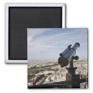 France, Ile-de-France, Paris, Eiffel Tower, Square Magnet
