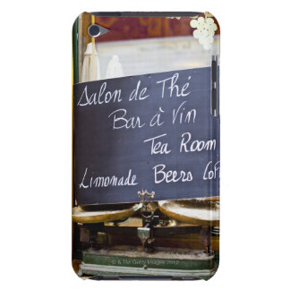 France, Ile-de-France, Paris, Menu sign in a iPod Touch Cases