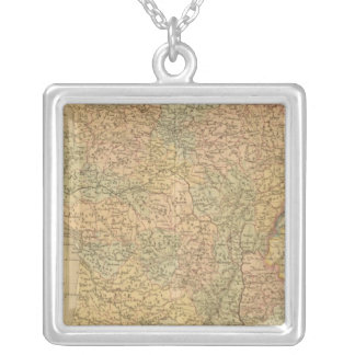 France in 1789 silver plated necklace