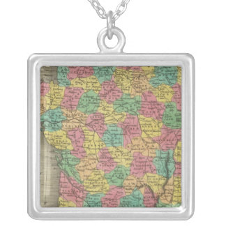 France, in Departments Silver Plated Necklace