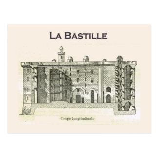France, Inside the Bastille Postcard