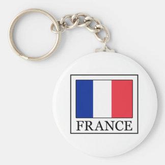 France Key Ring