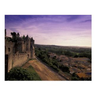 FRANCE, Languedoc Carcassonne 2 Postcard