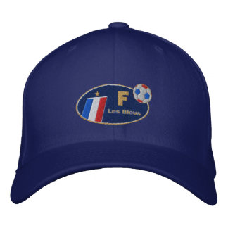 France Les bleus French Flag Logo Cap Embroidered Hats
