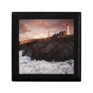France, lighthouse at dawn gift box