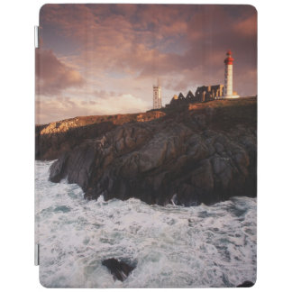 France, lighthouse at dawn iPad cover