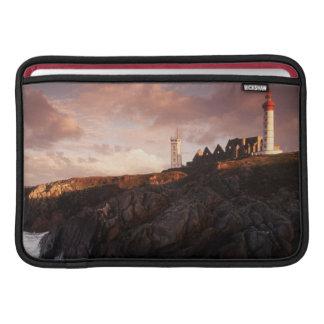 France, lighthouse at dawn MacBook sleeve